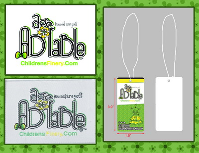 Custom logo labels  and Hang tags