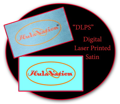 Digital Laser Satin Printed labels