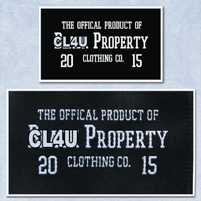 custom clothing labels with low minimums