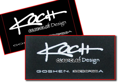 Custom clothing labels