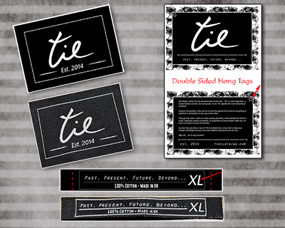 Custom Woven Labels, Custom Hang tags