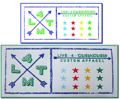 Designer custom labels