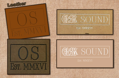 Custom Leather Labels