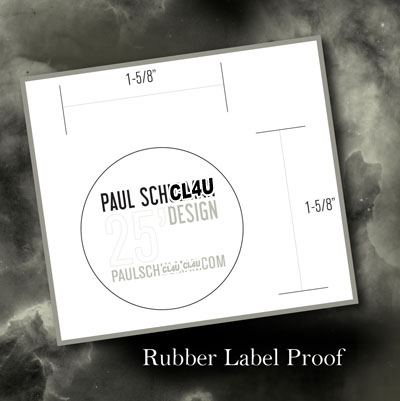 Custom Rubber Labels