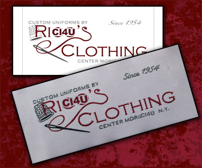 custom clothing labels cheap