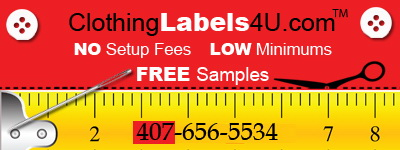 Clothing Labels Banner