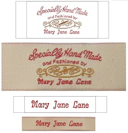 personalized clothing label