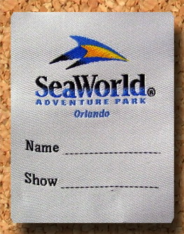 Seaworld Label