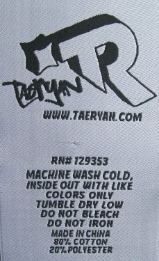 Custom Clothing Label