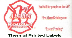 thermal printed