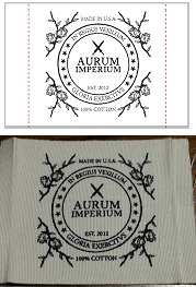 Cotton labels, cotton printed labels