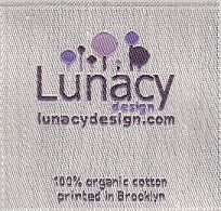 organic cotton woven label