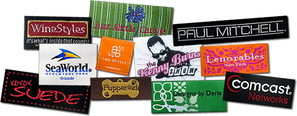 Custom woven clothing labels at affordable prices low minimums and never a set up fee best quality custom labels out there